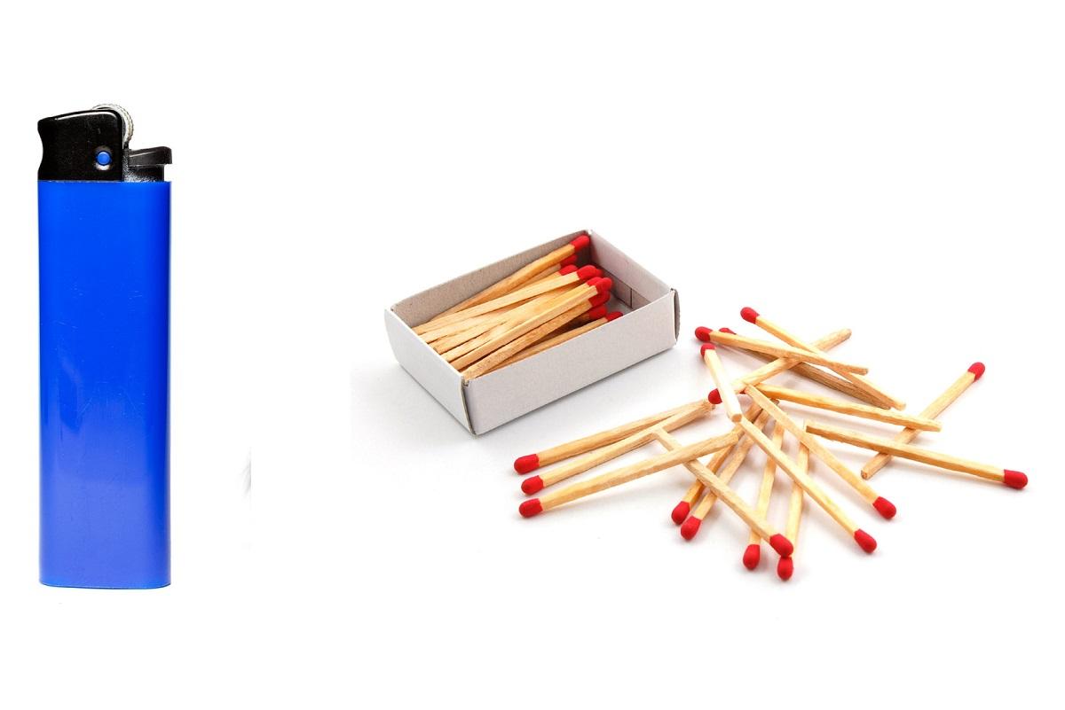 Sono stati inventati prima gli accendini o i fiammiferi?