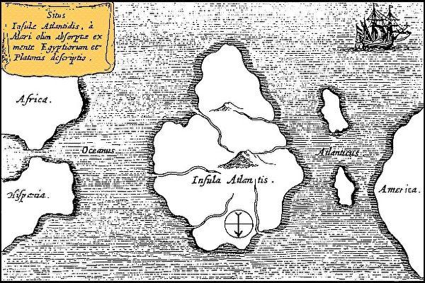 Dove si trova Atlantide?
