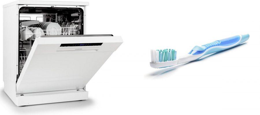 Si può mettere lo spazzolino nella lavastoviglie