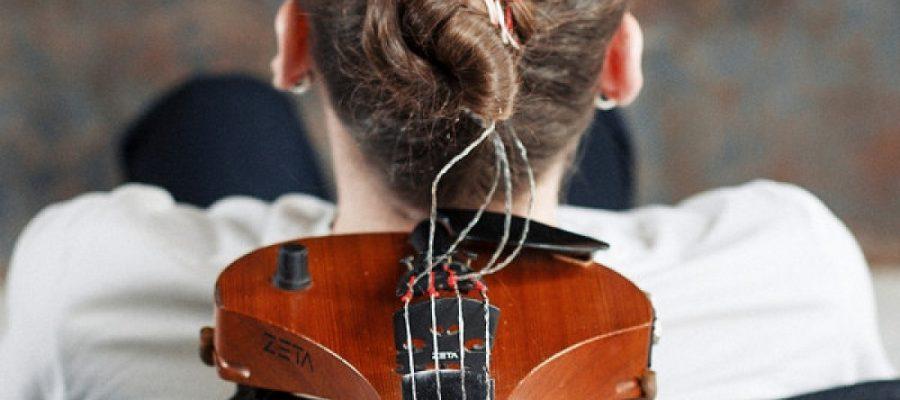 Cosa succede se ci sono i capelli al posto delle corde di violino?