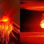 Cosa accadrebbe se si lanciasse una bomba atomica dentro un vulcano?