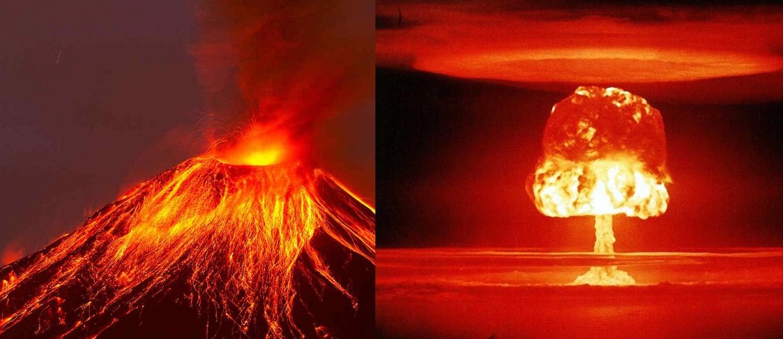 Buttare una bomba nucleare dentro un vulcano