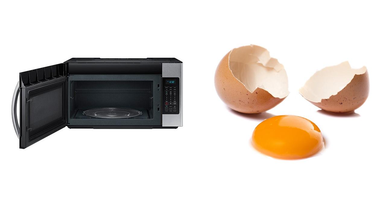 Cosa succede se si mette un uovo nel microonde?