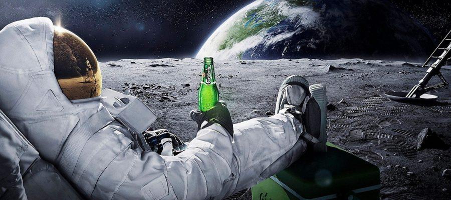 È vero che non ci si può ubriacare nello spazio?