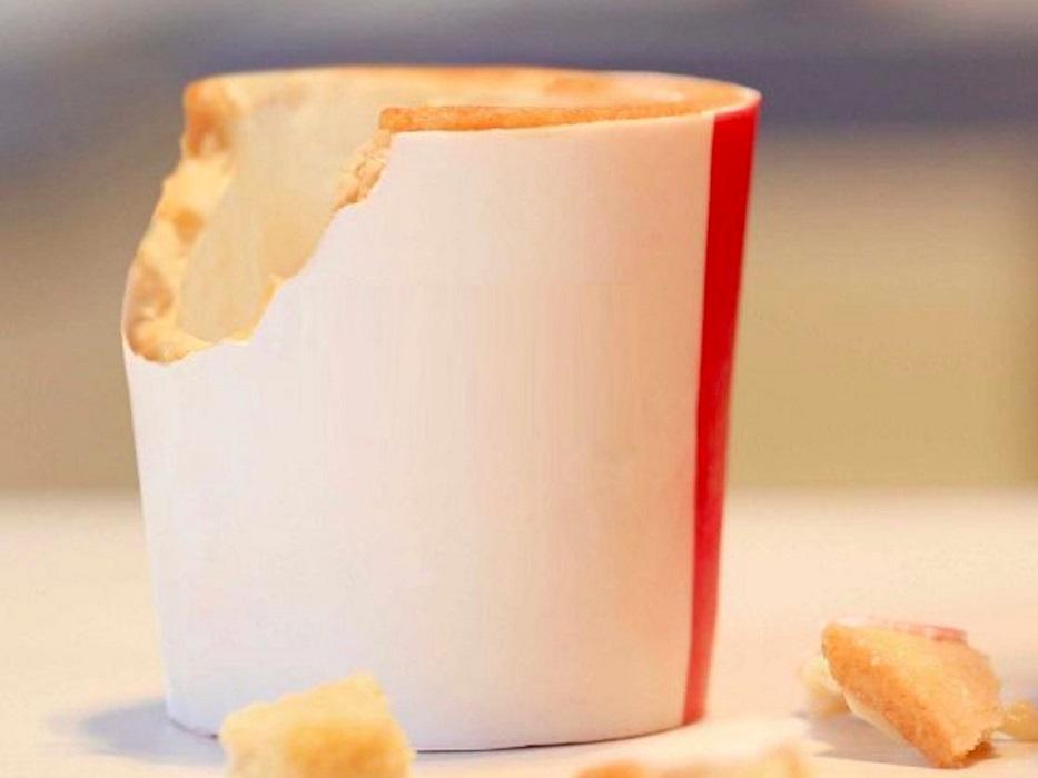 In futuro non mangeremo solo i cibi, ma anche i loro contenitori?