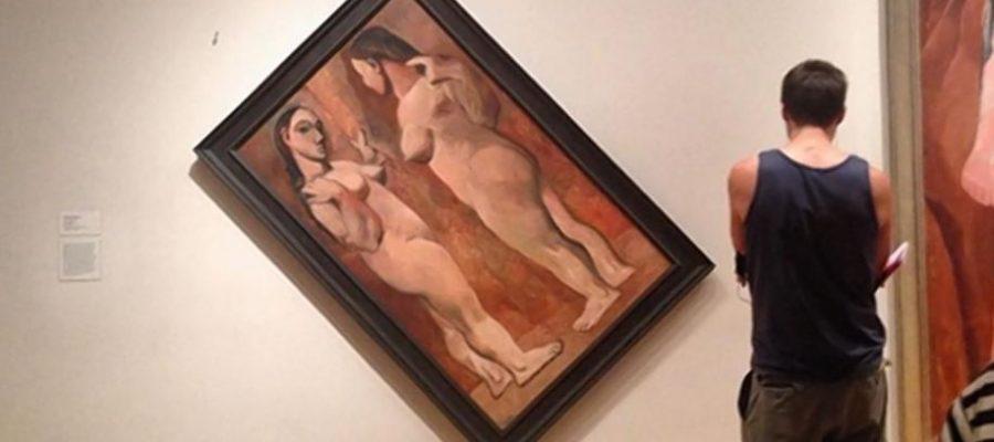 Perché i quadri storti ci danno fastidio?