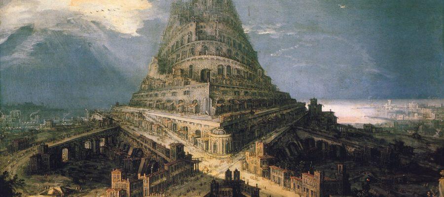 In che modo era fatta la Torre di Babele?