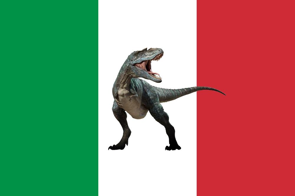 Dinosauri ritrovati in Italia