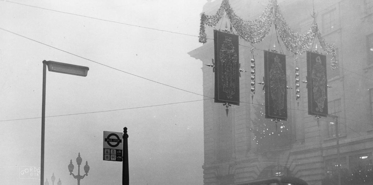Il Grande smog di Londra, 1952