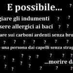 È possibile...