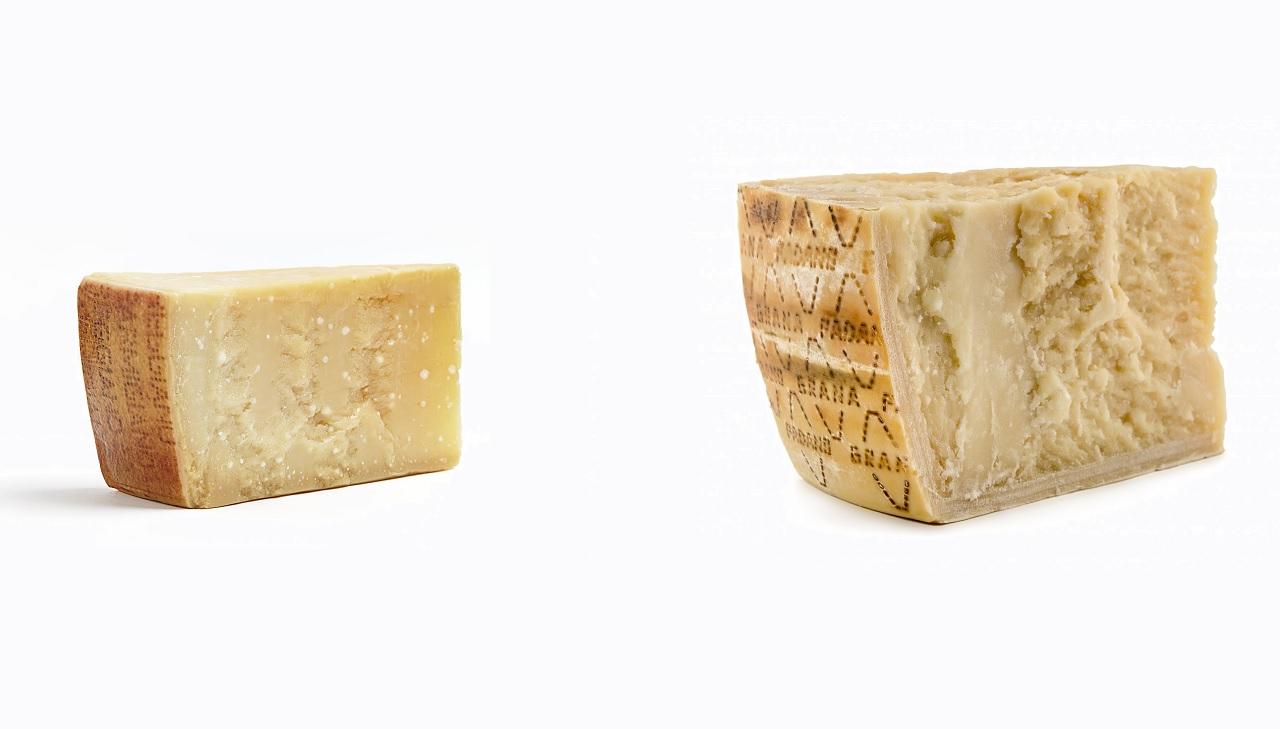 Il Grana Padano e il Parmigiano Reggiano sono uguali?