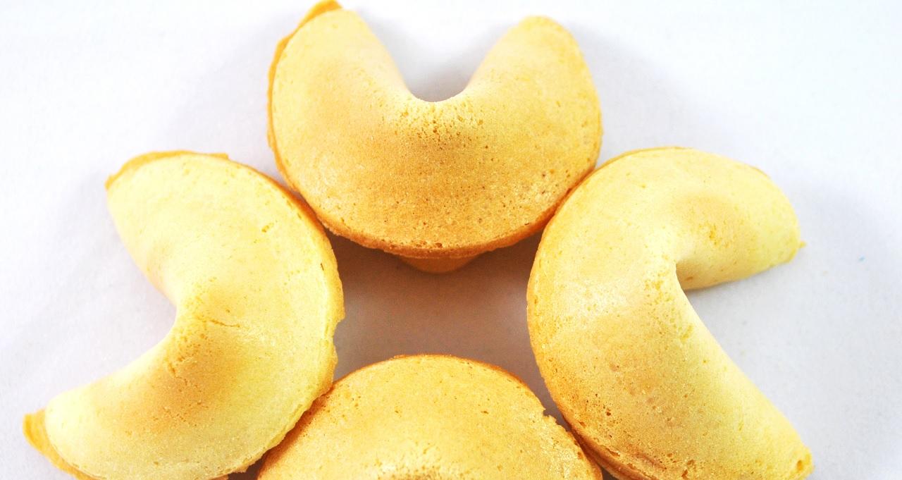 In Cina i biscotti della fortuna non esistono?