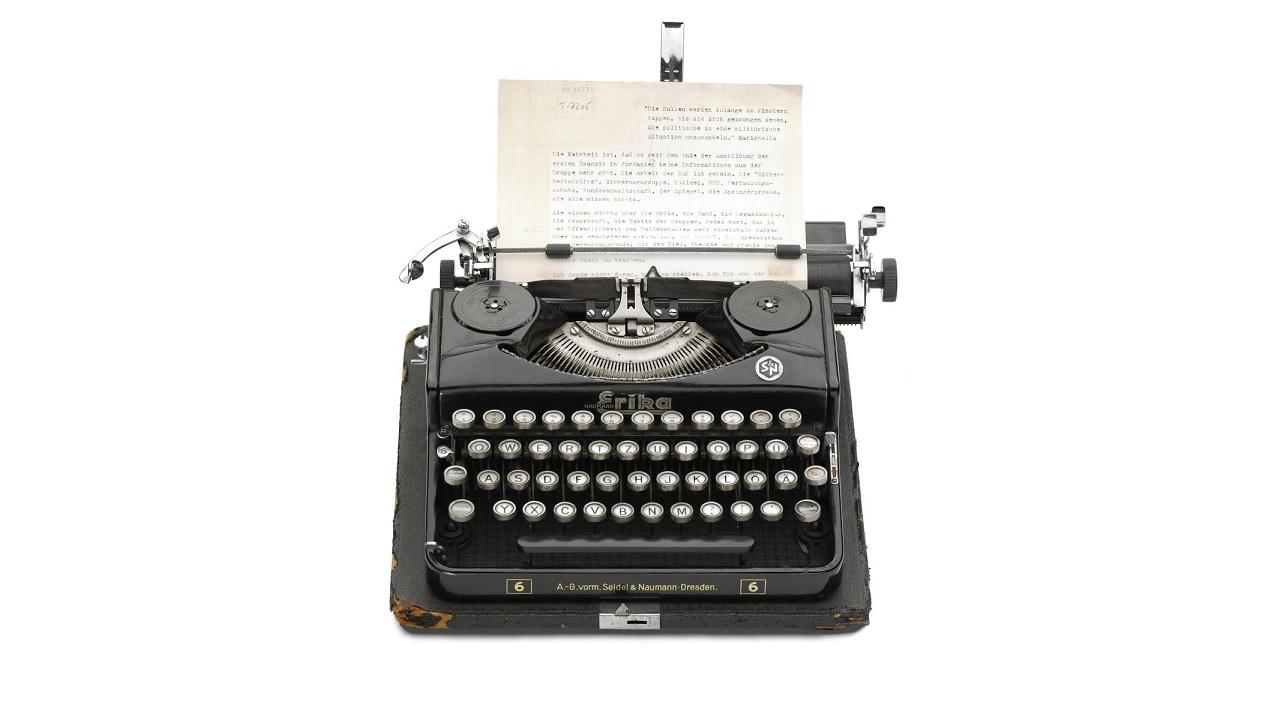 Quando è nata la macchina da scrivere?