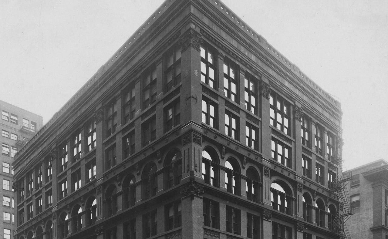 Il primo grattacielo della storia, l'Home Insurance Building
