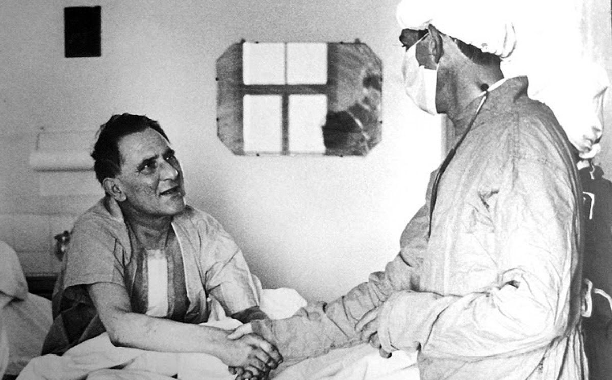 Il primo trapianto di cuore della storia, Il chirurgo Christiaan Barnard e il paziente Louis Washkansky.