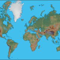Come si disegna una cartina geografica?