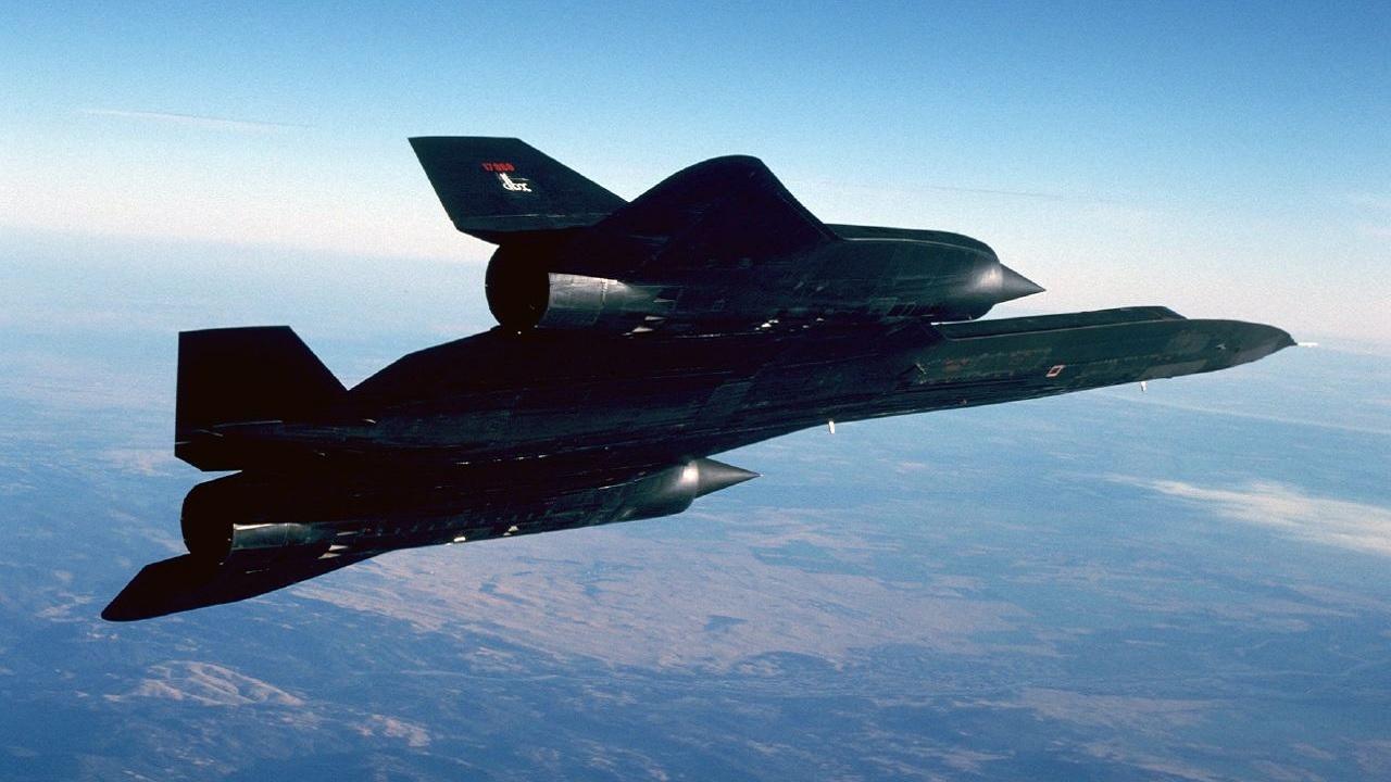Il Lockheed SR-71, l'aereo più veloce del mondo