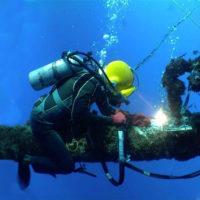 Come si salda sott'acqua?