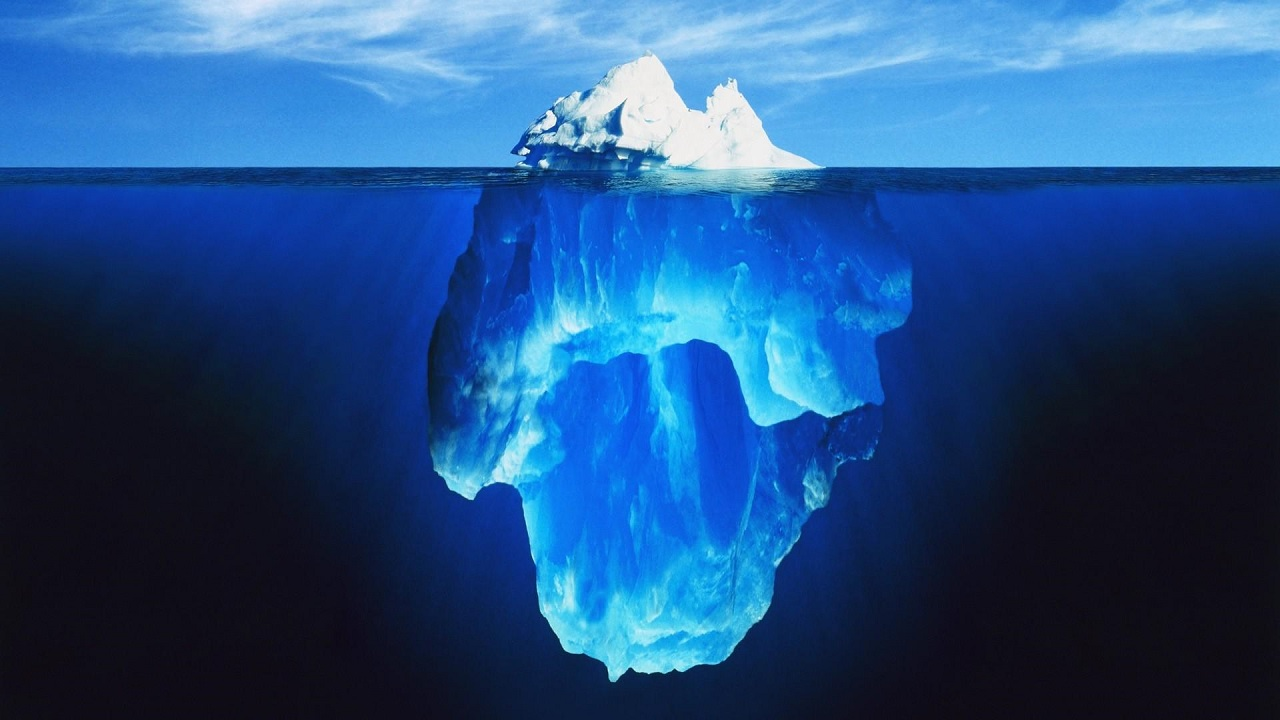 Perché gli iceberg si capovolgono?