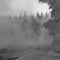 Perché la nebbia non ghiaccia sottozero?