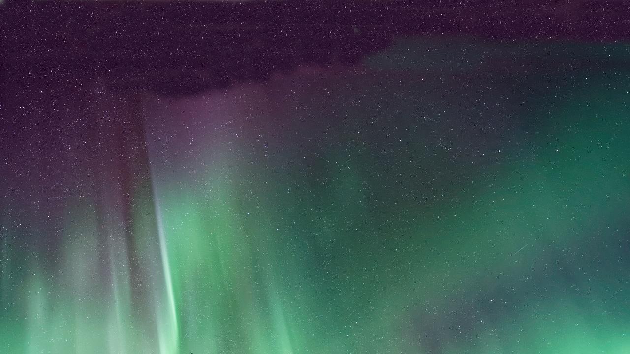 L'aurora boreale più a sud