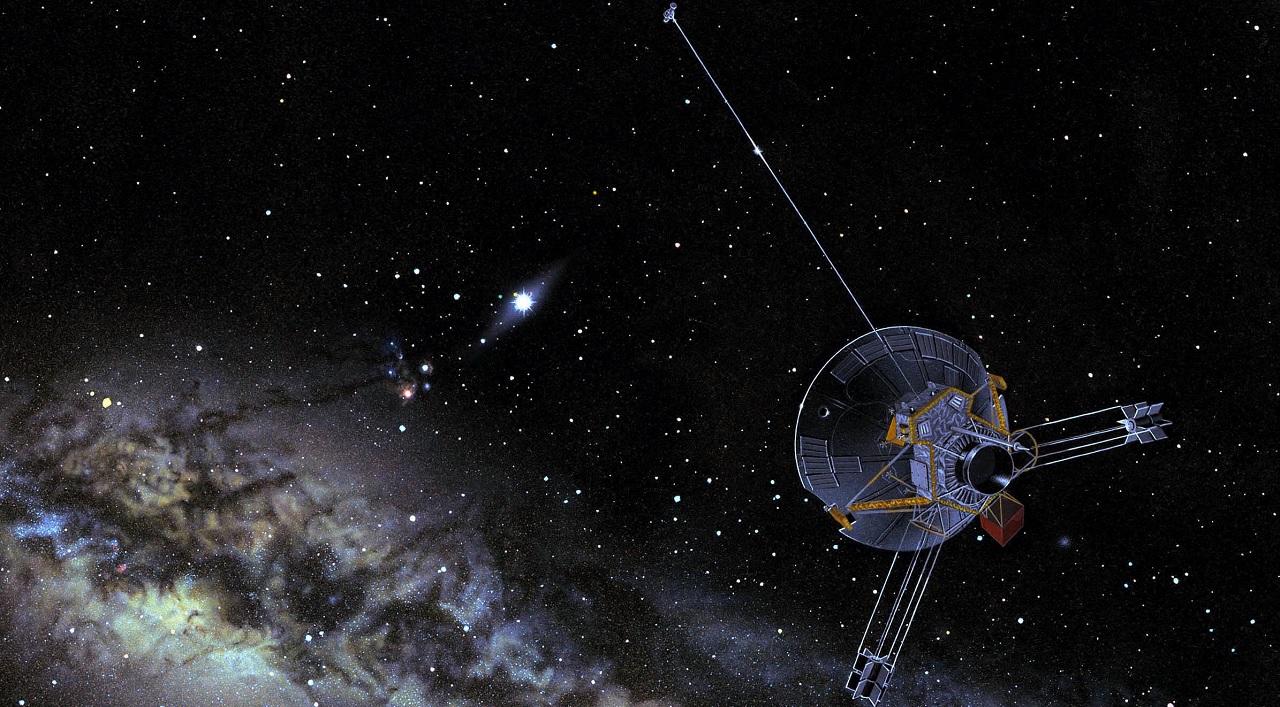 La sonda Pioneer 10, la prima sonda utilizzata per cercare civiltà aliene