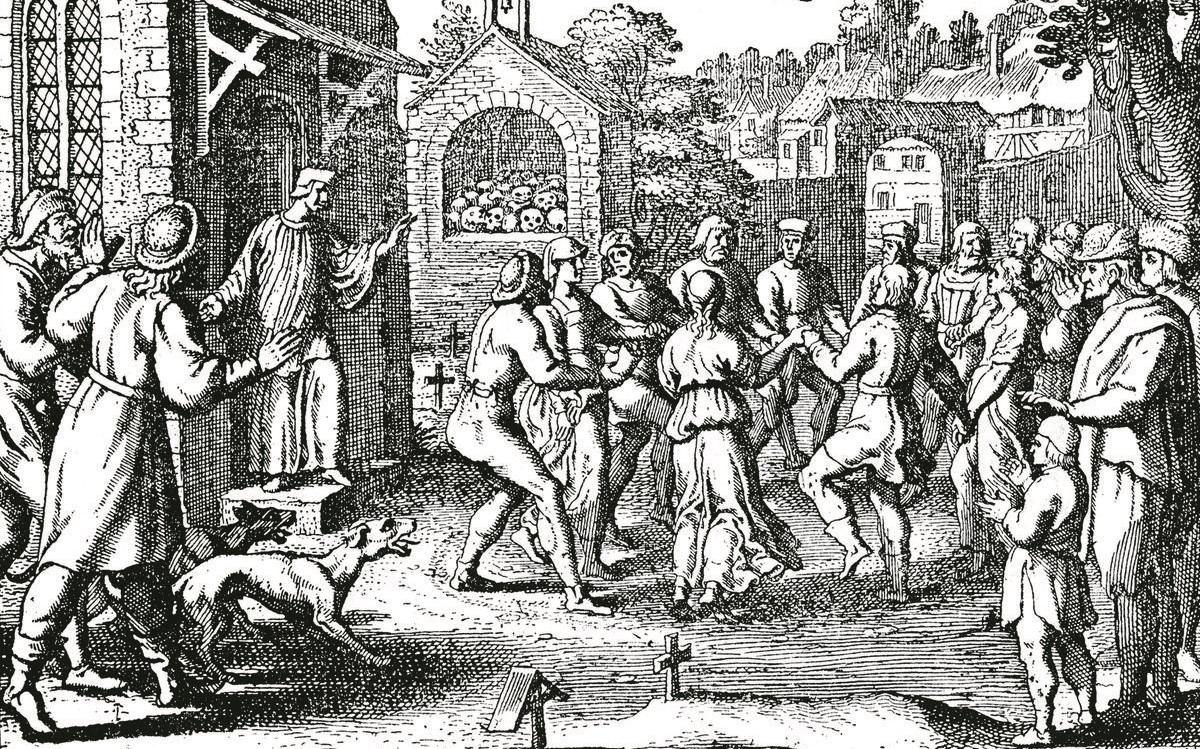 La piaga del ballo del 1518
