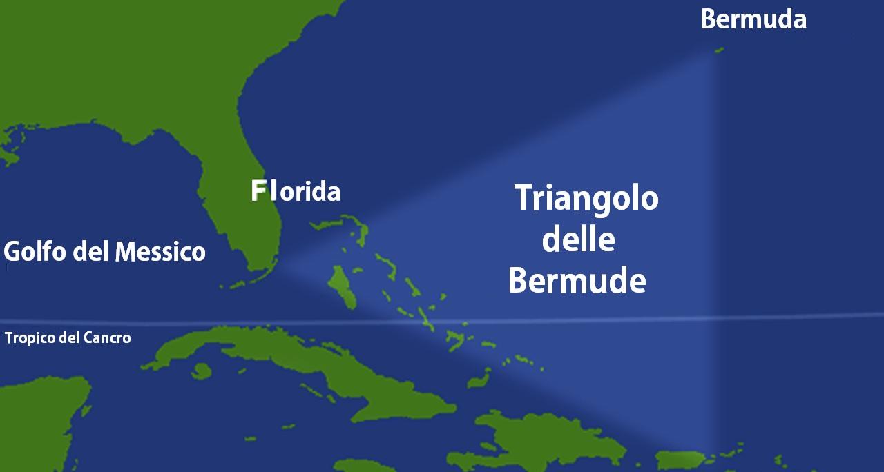 Le navi affondano nel Triangolo delle Bermude?