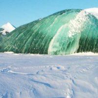 Perché ci sono iceberg verdi?