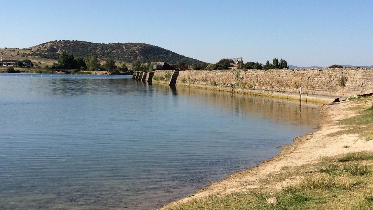 Proserpina, la diga più antica ancora in funzione.