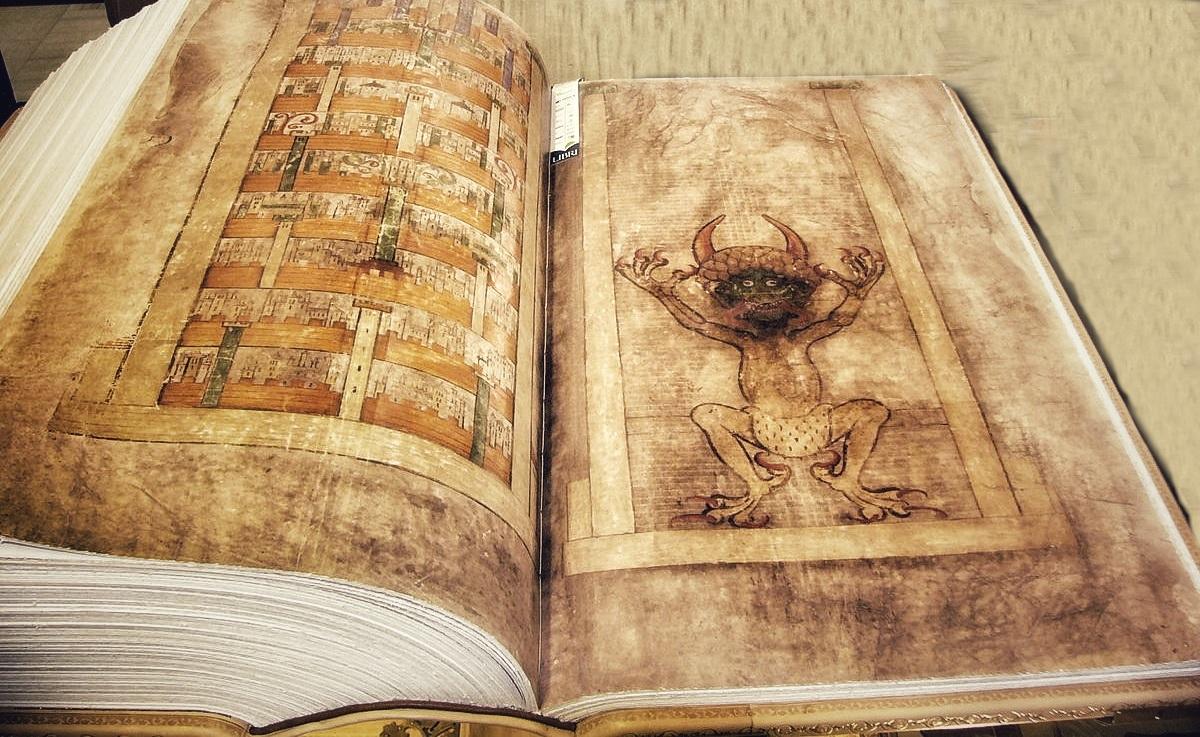 Il Codex Gigas, la Bibbia del Diavolo