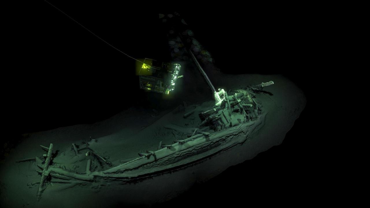 La nave più vecchia del mondo