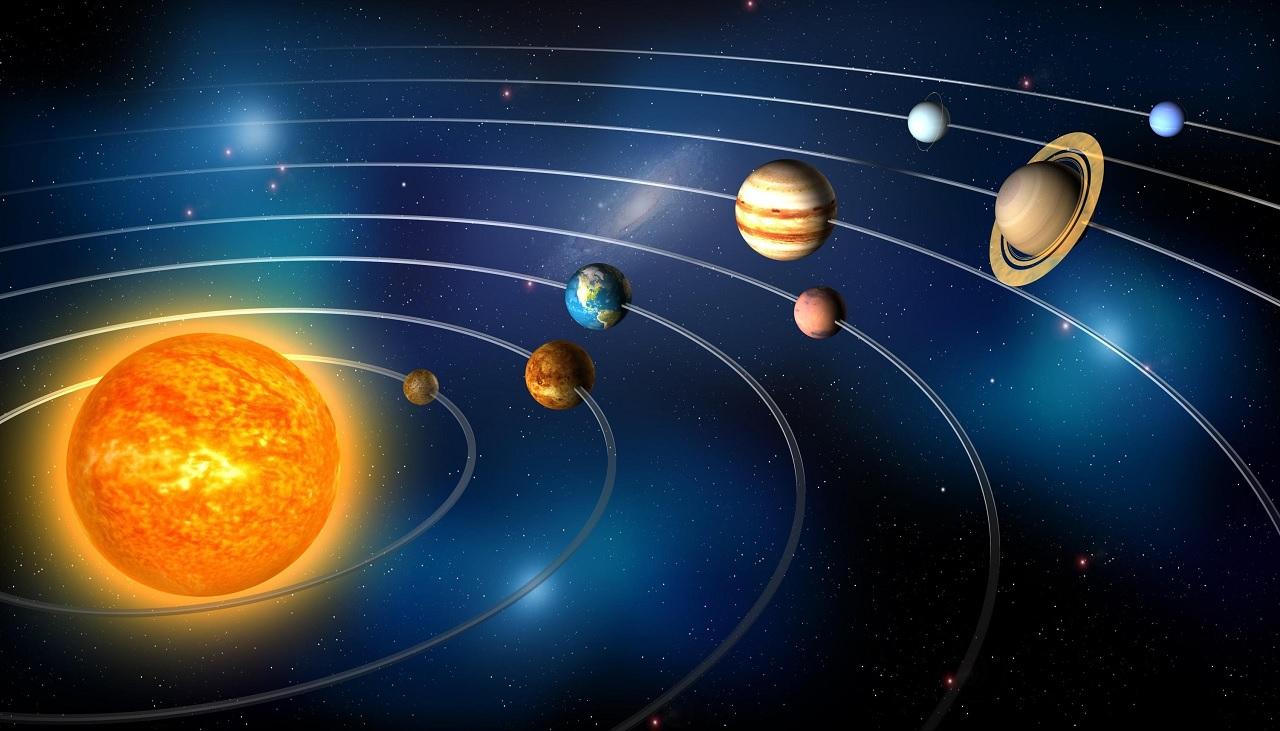 I colori dei pianeti del Sistema solare