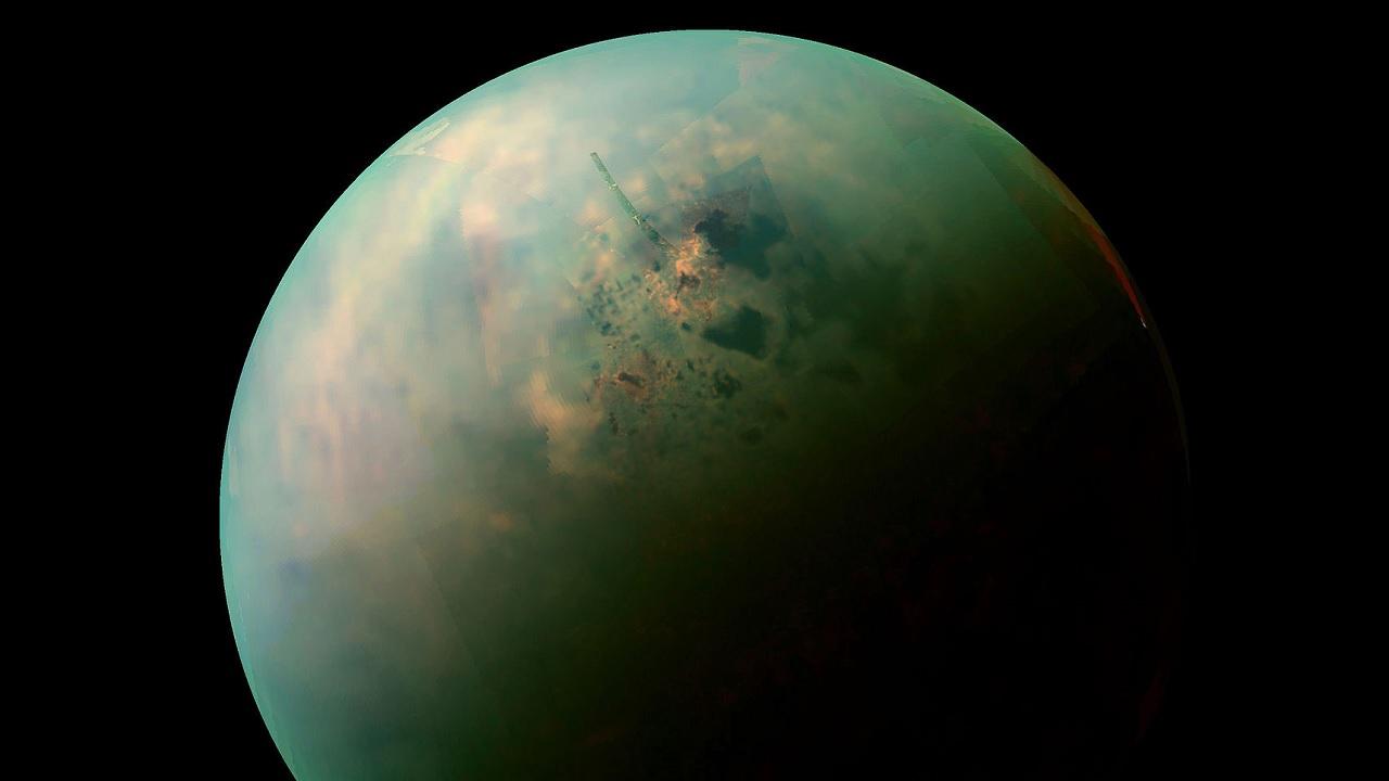 Un castello di sabbia su Titano