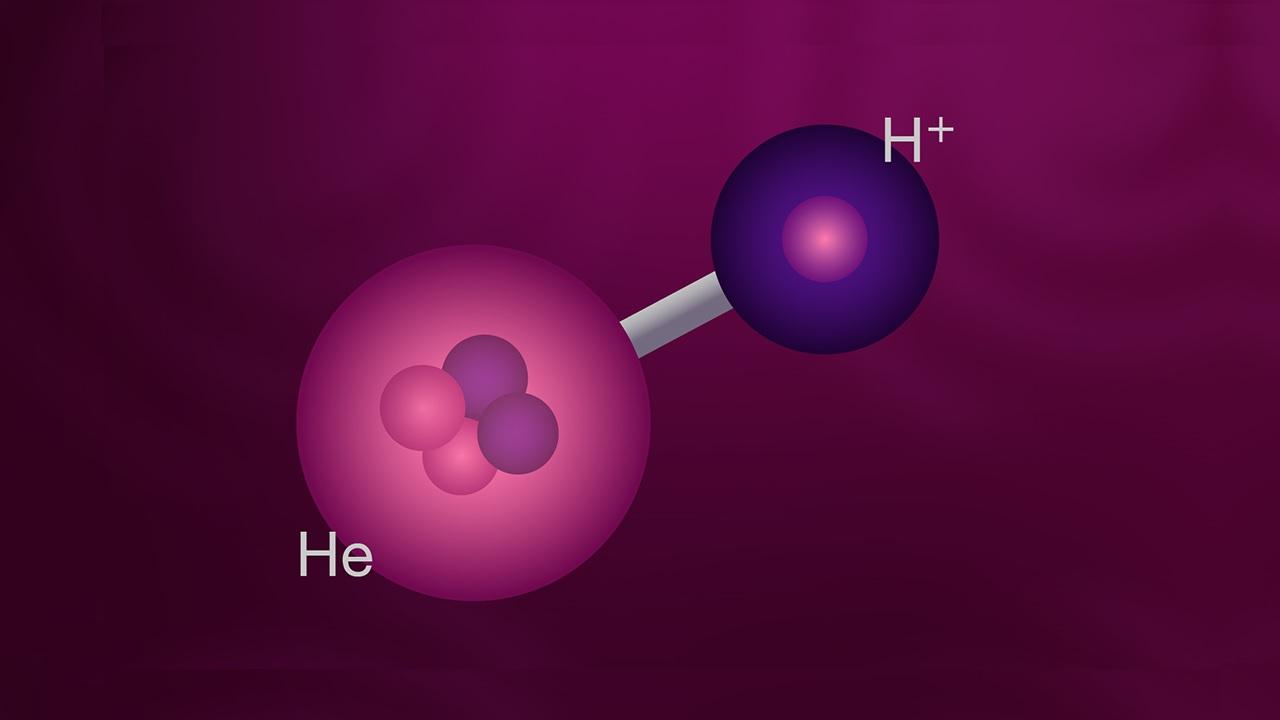 La prima molecola dopo il Big Bang