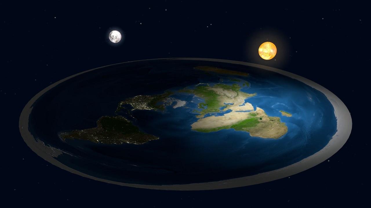 La gravità sulla Terra piatta