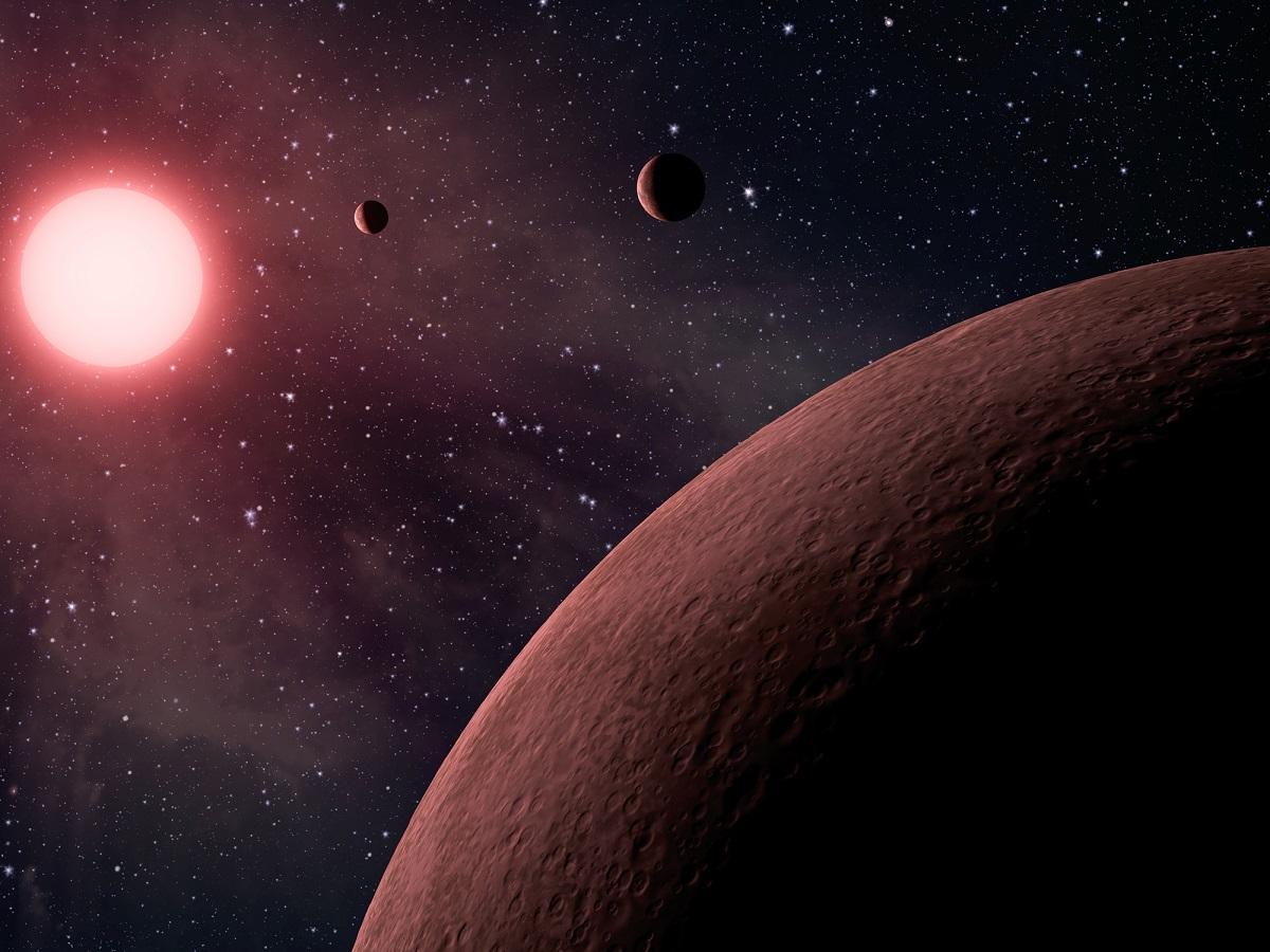 Raffigurazione dei pianeti extrasolari