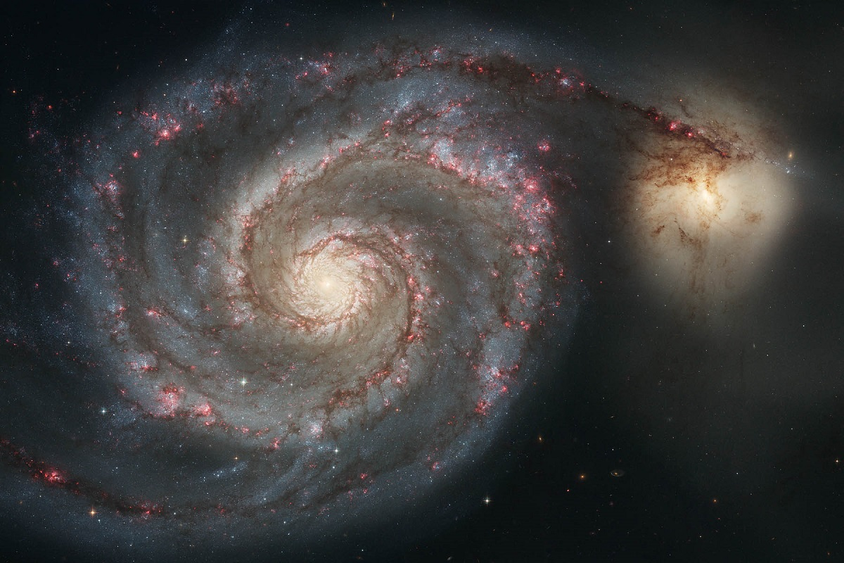 Un'immagine dello spazio
