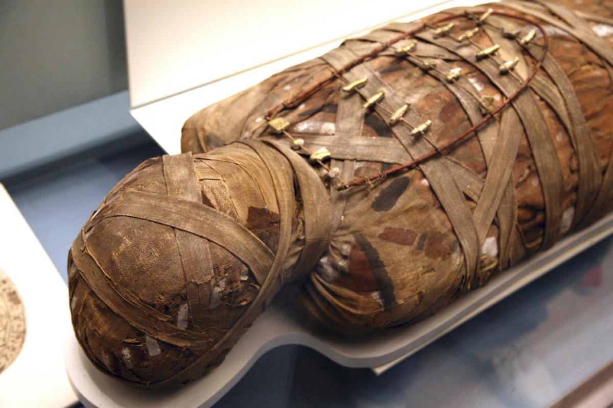Le mummie e il processo di mummificazione