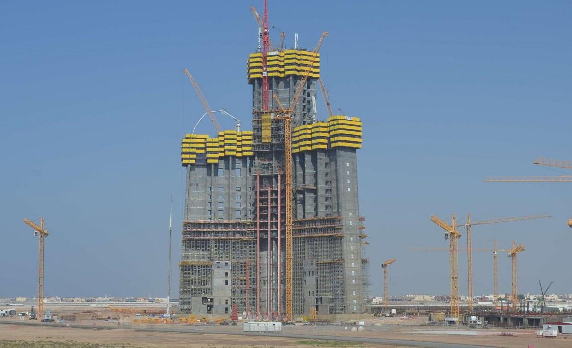 La Kingdom Tower, alta 1007 metri per 156 piani