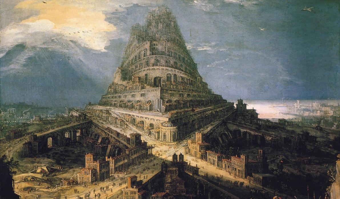 La vera Torre di Babele era la ziqqurat di Babilonia