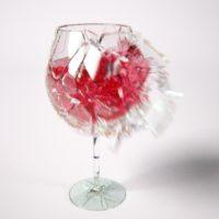 Gli oggetti di vetro sono più fragili quando sono caldi?