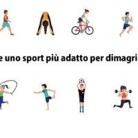 Esiste uno sport più adatto per dimagrire?
