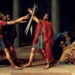 I romani facevano il saluto romano?